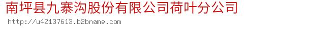 南坪县九寨沟股份有限公司荷叶分公司